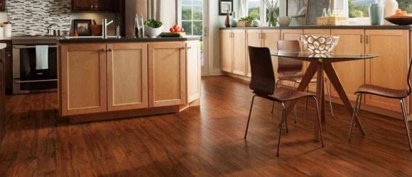 Линолеум на кухне на полу