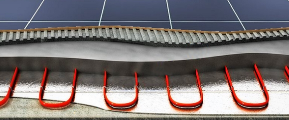Греющий кабель для тёплого пола под плитку