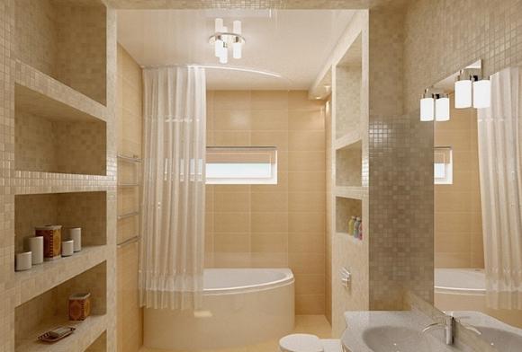 Самоклеющийся плинтус в ванной