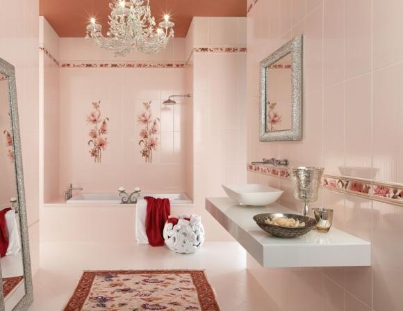 Ванная комната без плинтусов