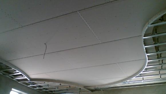 Металлический арочный профиль для гипсокартона