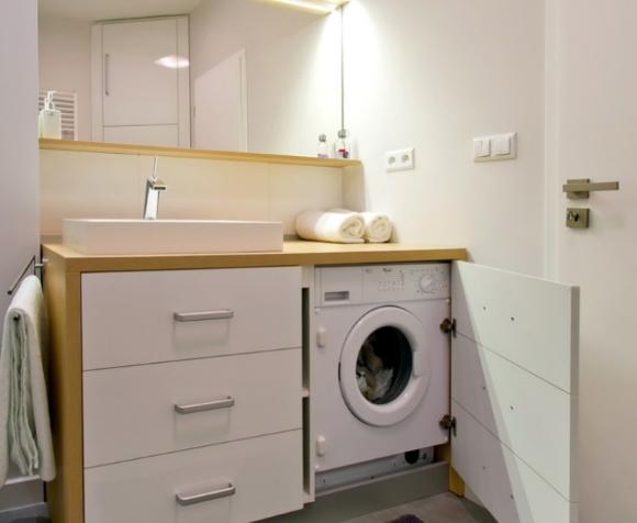 Фотографии стиральных машин под раковиной в хрущевских домах