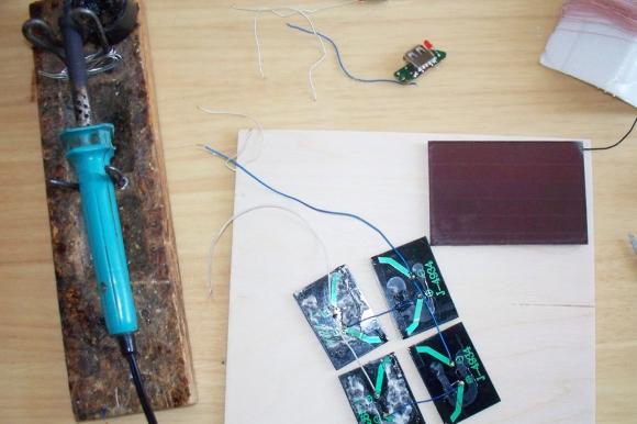 Простая самодельная солнечная батарея