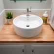 Раковина в столешнице в ванной