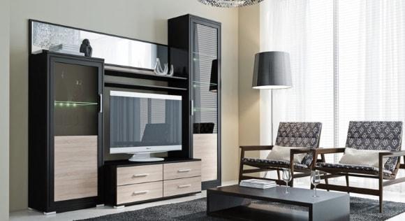 Фото модульной мебели эконом класса для маленькой гостиной