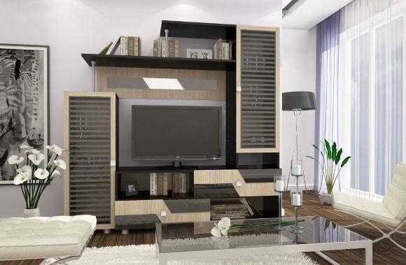 Мебель эконом класса для гостиной модульной системы