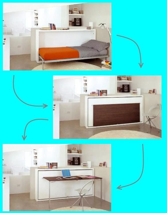 Мебель-трансформер для гостиной