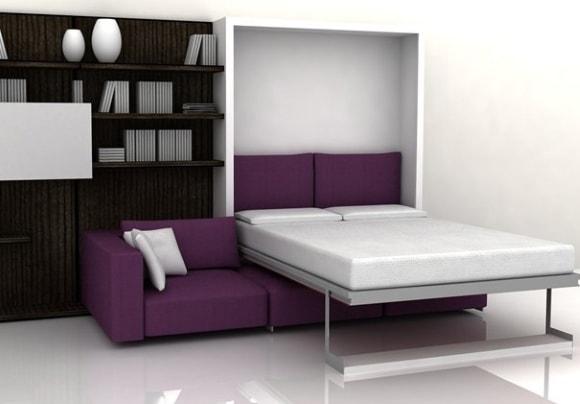 Современная модульная мебель-трансформер для гостиной комнаты