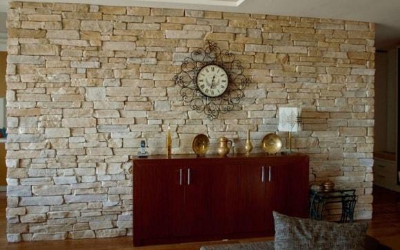 Декоративная плитка под камень на стену фото