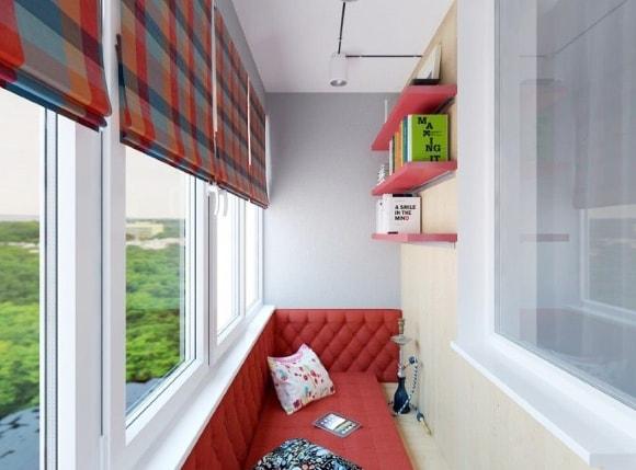 Идеи для расположения спальных мест на балконе фото