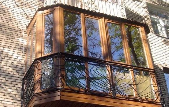 Ремонт остекления балконов