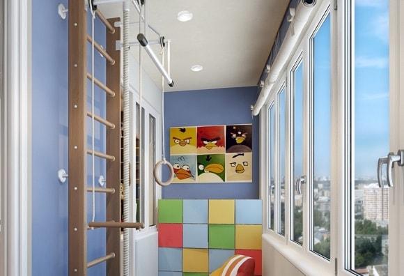 """Детские комнаты на балконе,лоджии"""" - карточка пользователя i."""