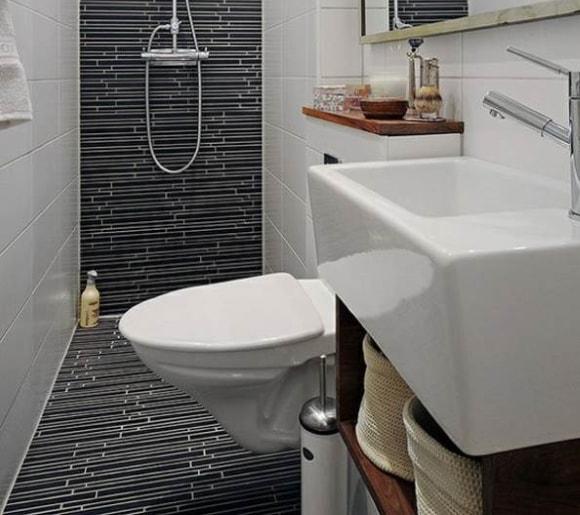Дизайн ванной комнаты без ванны