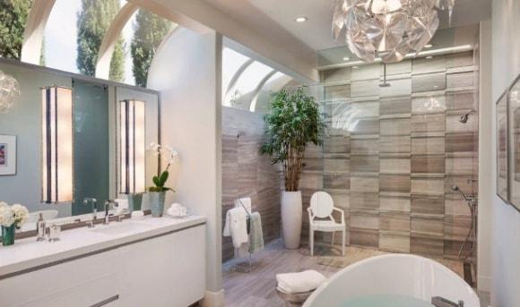 Красивые, модные и современные варианты дизайна интерьера ванных комнат