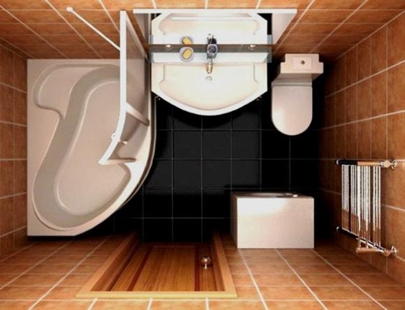 Ванная комната 2 на 2