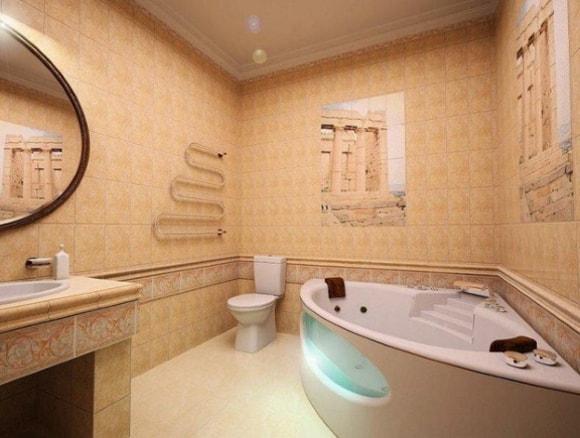 Ванная комната 6 кв. метра