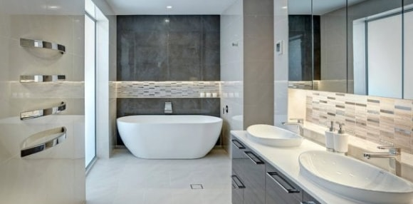 Ванная комната без унитаза