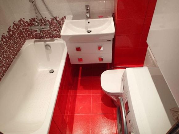Ванная, совмещённая с туалетом