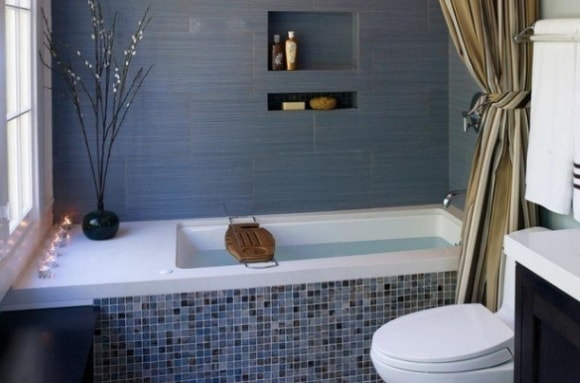 Варианты дизайна для маленькой ванной