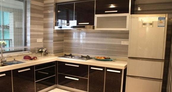 Дизайн и отделка кухни панелями из пластика