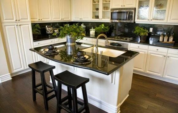 Дизайн кухни с островком