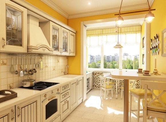 Вентиляционный короб на кухне
