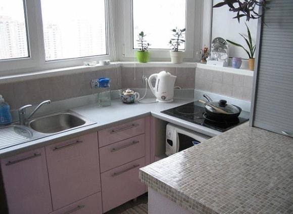 Интересная идея для отделки кухни
