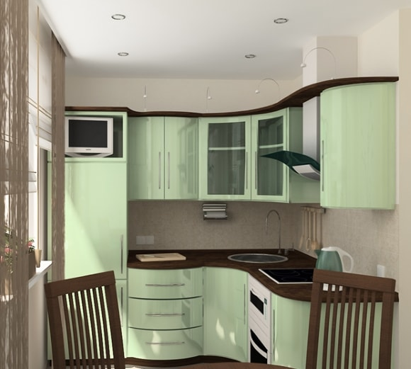Кухня в хрущевке/брежневке