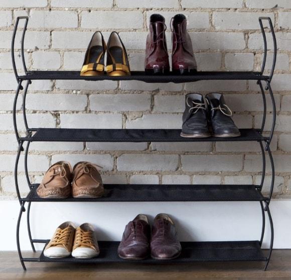 Обувница в стиле лофт