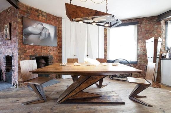 Офисные стулья в стиле лофт