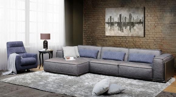 Раскладной диван в стиле лофт