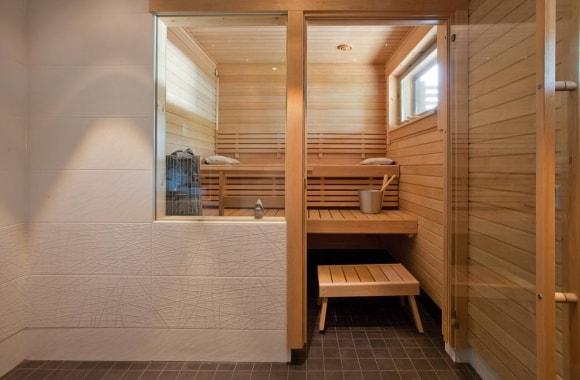 Интерьер скандинавской бани