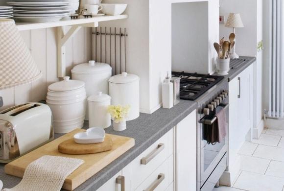 Посуда в интерьере скандинавского стиля
