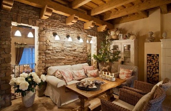 Дом, выполненный в стиле прованс