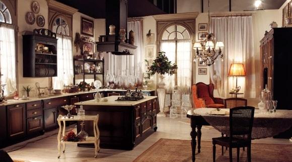Интерьер, выполненный в стиле итальянский прованс