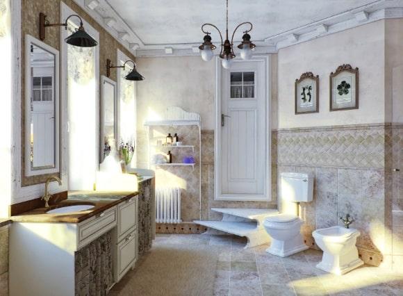 Прованская ванная