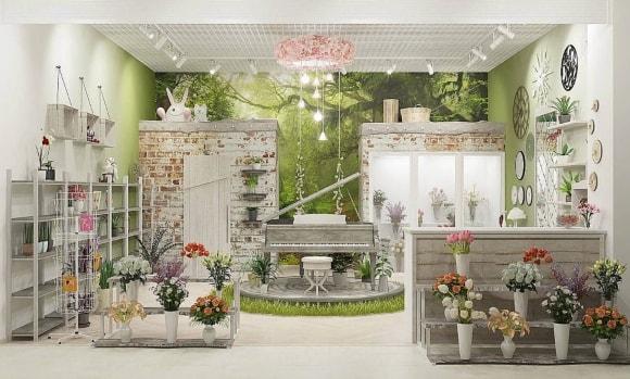 Прованский цветочный магазин