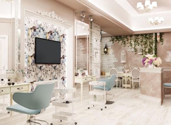 Стиль прованс в интерьере салона красоты