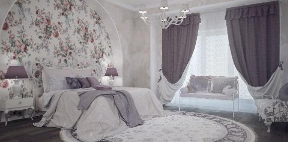 Тюль в интерьере стиля прованс